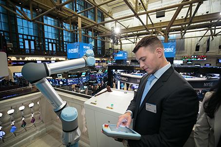 Universal Robots chiusura Nyse