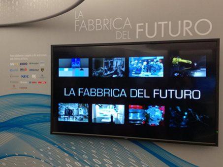 fabbrica del futuro mostra Walvoil Bologna