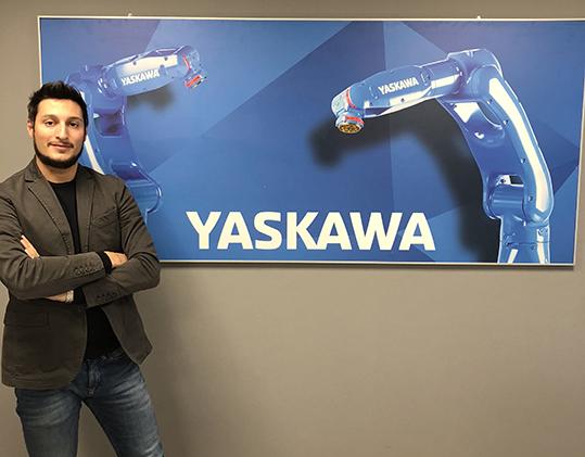 Yaskawa robot AI Alessandro Redavide