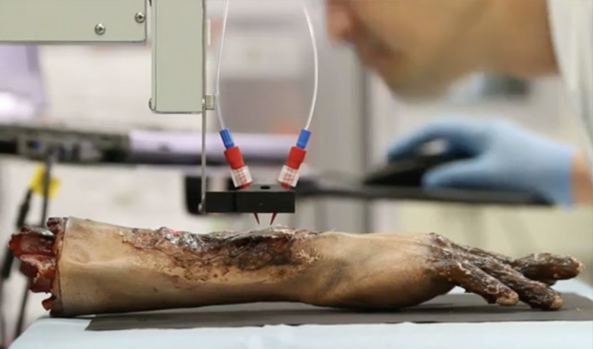 bioprinter_stampa 3D pelle medicina rigenerativa
