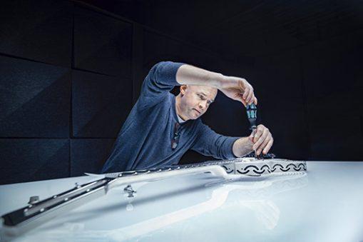 Yngwie Malmsteen chitarra stampa 3D additiva Sandvik