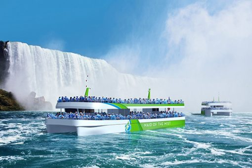 e-mobility imbarcazioni elettriche cascate Niagara ABB Maid of the Mist