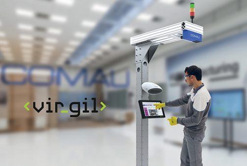 assistente digitale operazioni manuali Vir.GIL Comau