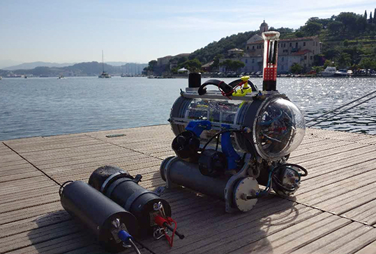 FeelHippo Università Firenze robot subacqueo