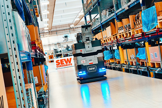 SEW_EURODRIVE_lean smart factory