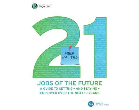 21 Lavori del futuro AI Cognizant