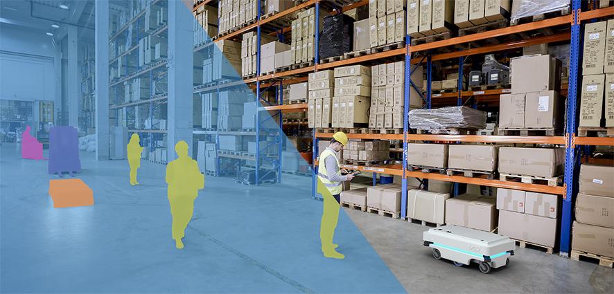 robot mobili autonomi logistica MiR