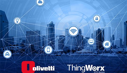 IoT piattaforma PTC Olivetti