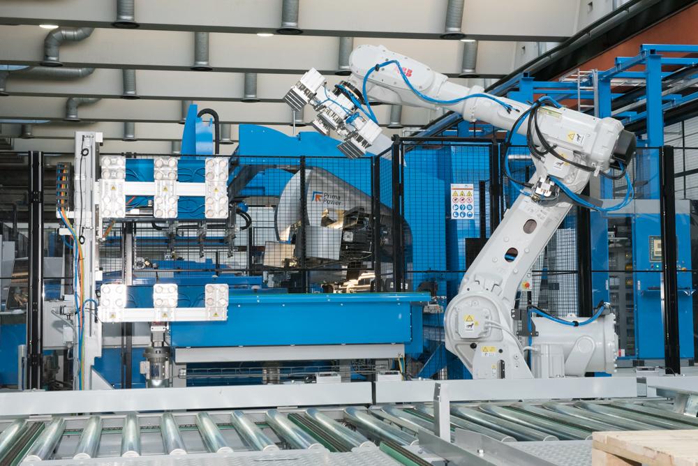 robot produzione ABB Dalmine