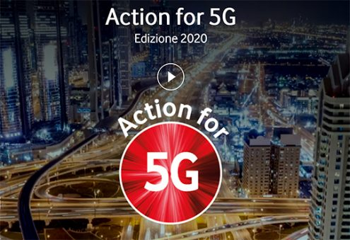 Action for 5G bando Vodafone