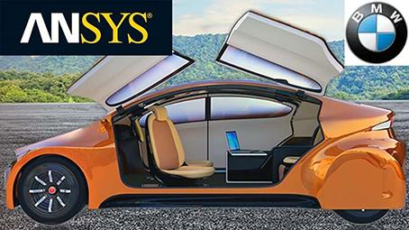 ansys-bmw-autonomous-driving