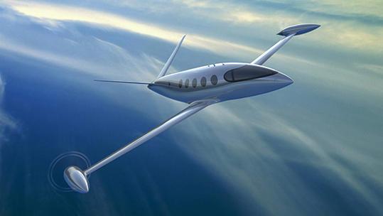 Eviation aereo elettrico Alice Dassault Systèmes
