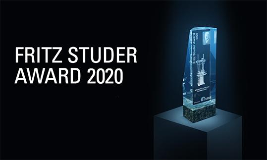 Fritz Studer Award 2020
