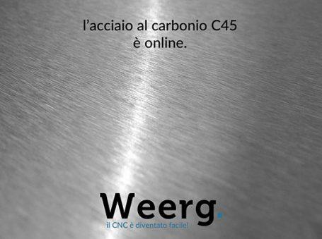 Weerg acciaio carbonio CNC online