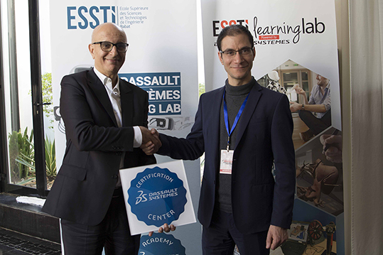 ESSTI Dassault Systèmes Rabat