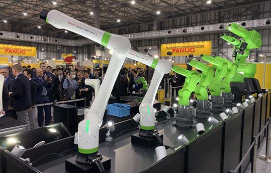 Fanuc robot collaborativo CRX