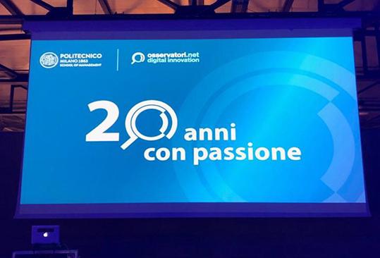 Osservatori digital innovation 20 anni
