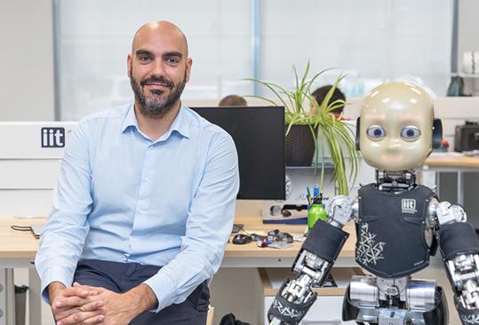 Pucci IIT iRonCub robot umanoide