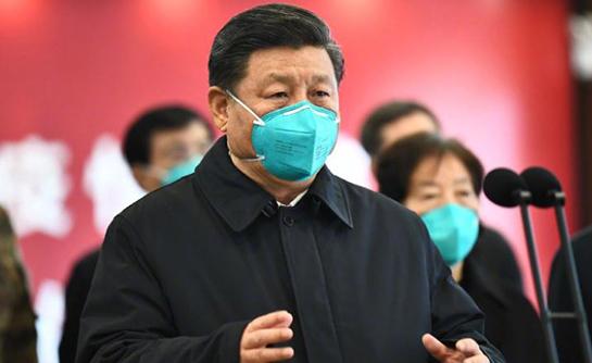 Chinese President Xi Jinping in Wuhan