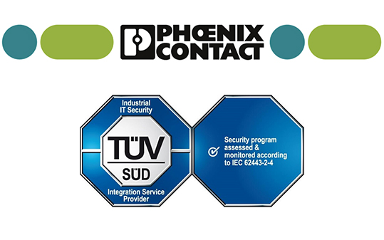 Phoenix Contact certificazione cyber security