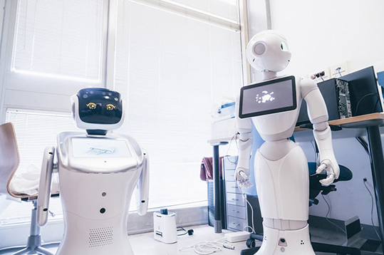 robot contro covid-19