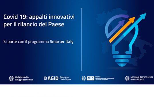 Smarter Italy appalti innovativi