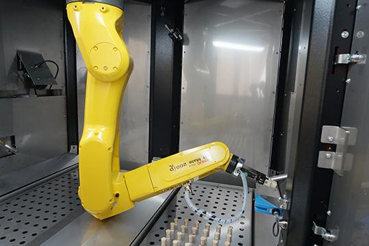 Fanuc robot tamponi covid-19 BoKa