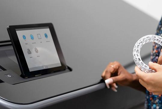 HP 3DaaS Plus 3D printing