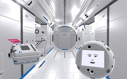 IBM AI Cimon missione spaziale ISS