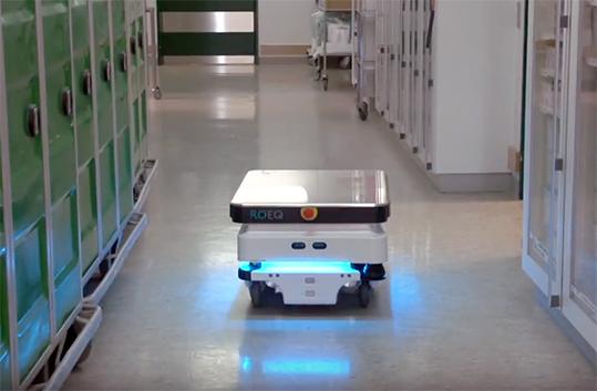 MiR robot mobili autonomi ospedali
