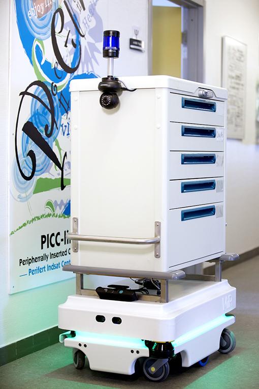 MiR robot mobili ospedali