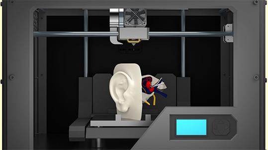 3D printing biomedicale