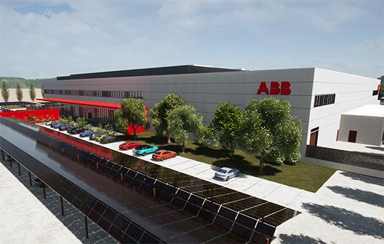 ABB_stabilimento Arezzo mobilità elettrica