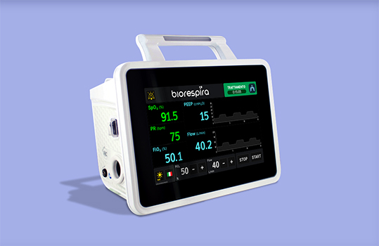 Biorespira ventilatore polmonare Seco IBD