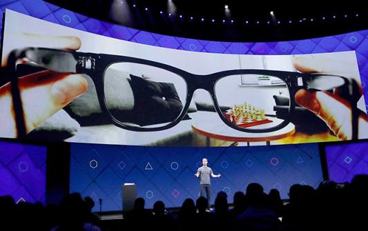 Facebook Luxottica smart glasses