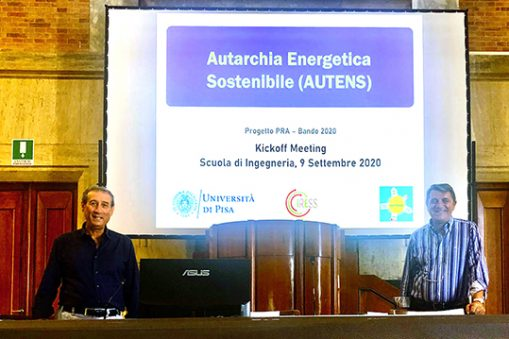 Università di Pisa Autens autarchia energetica