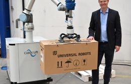 Alumotion Cobot Lift robot collaborativi
