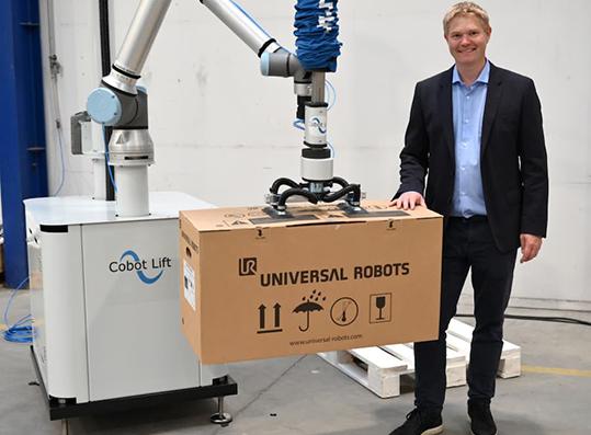 Alumotion Cobot Lift robot collaborativi
