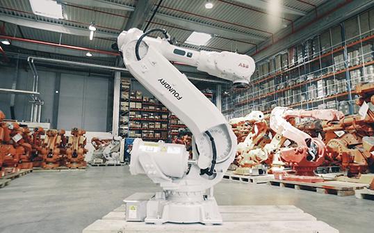 ABB robot rifabbricati