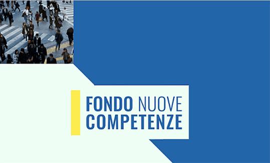 Fondo Nuove Competenze Anpal
