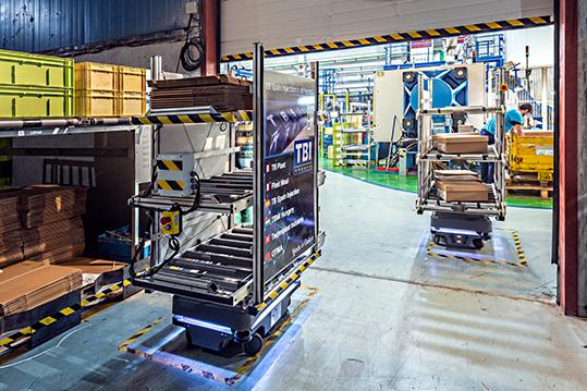 MiR automazione intralogistica Vigo TB Spain