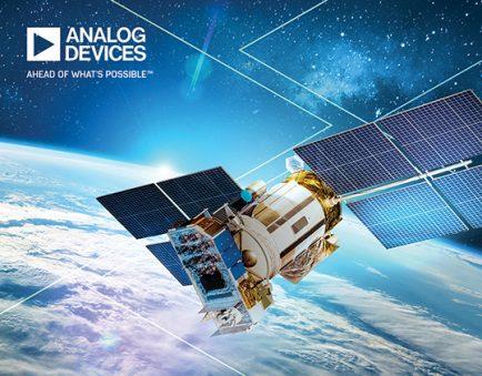 Analog Devices beam forming satelliti MDA Telesat