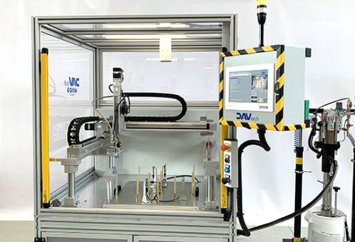 DAV Tech Festo stazioni dosaggio robotizzate