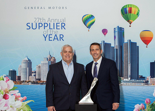 Comau supplier of the year 2020 GM