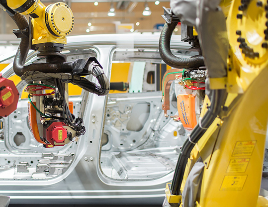 Fanuc robot veicoli elettrici Ford