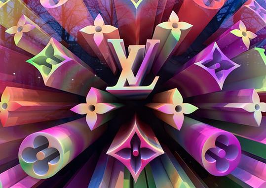 LVMH Vuitton AI lusso Google Cloud
