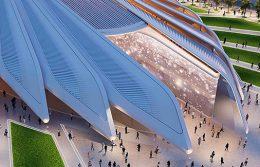 Duplomatic movimentazione oleodinamica copertura Calatrava Expo Dubai
