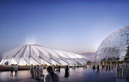 Duplomatic movimentazione padiglione Emirati Expo 2020 Dubai