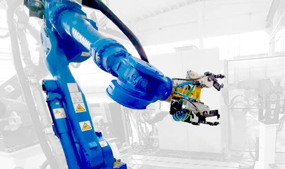 Yaskawa robot saldatura a punti