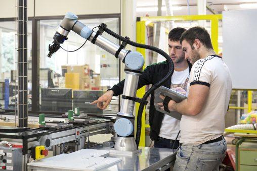 Universal Robots carta idee robotica collaborativa